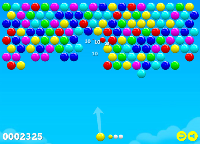 Click to play Bubble Shooter 2