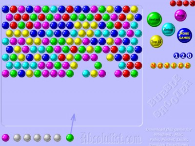 online game bubbles