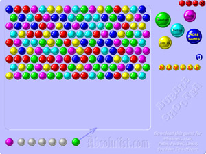 bubble shooter 2 full screen