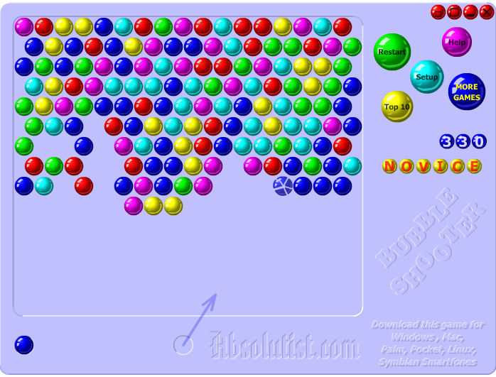 bubble shooter 2 game